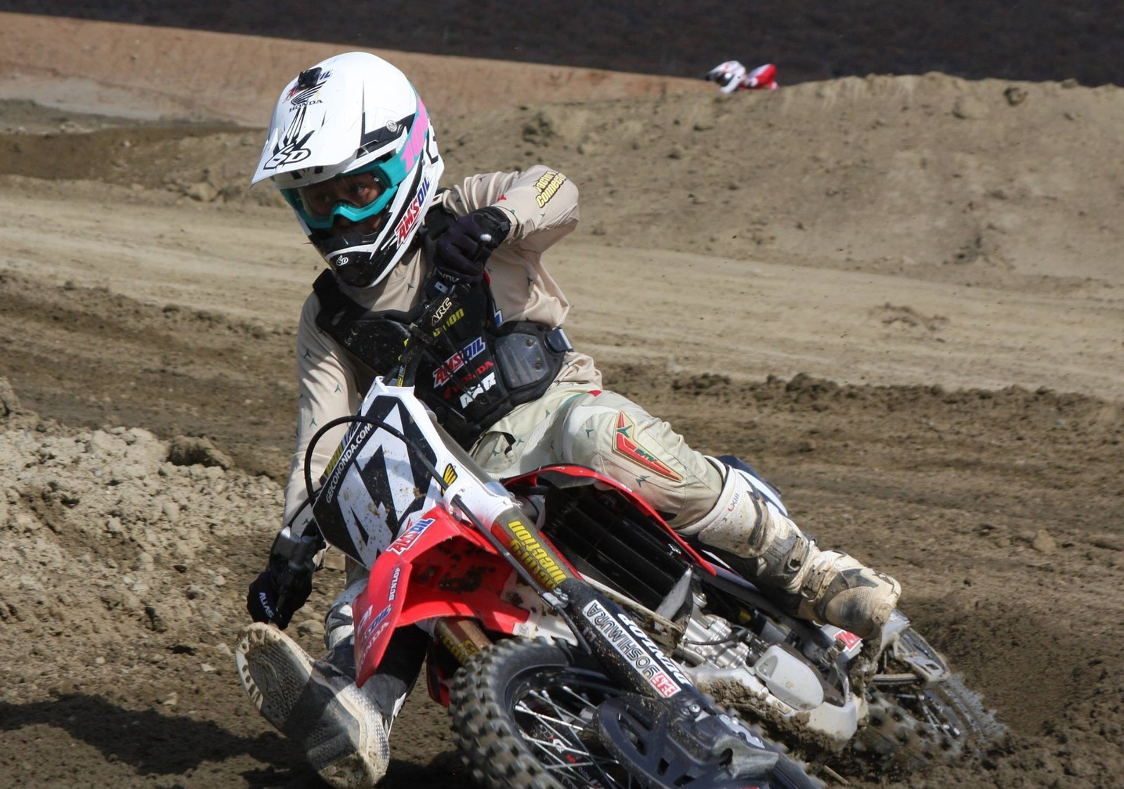 Jo Shimoda #47 with the RXR Protect Bullet
