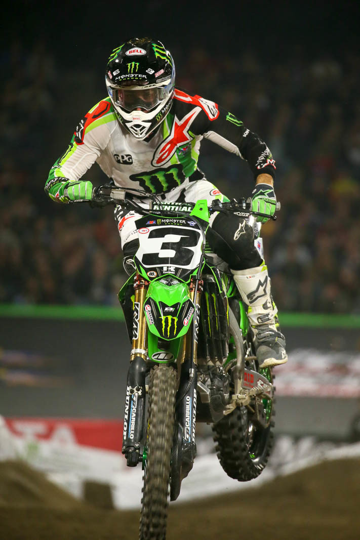 ... Monster Energy Supercross Season. Who Else Had Eli Tomac Lined Up As  The Race Winner In Their Fantasy Picks For Saturday Night? Iu0027ll Admit, I  Did, ...