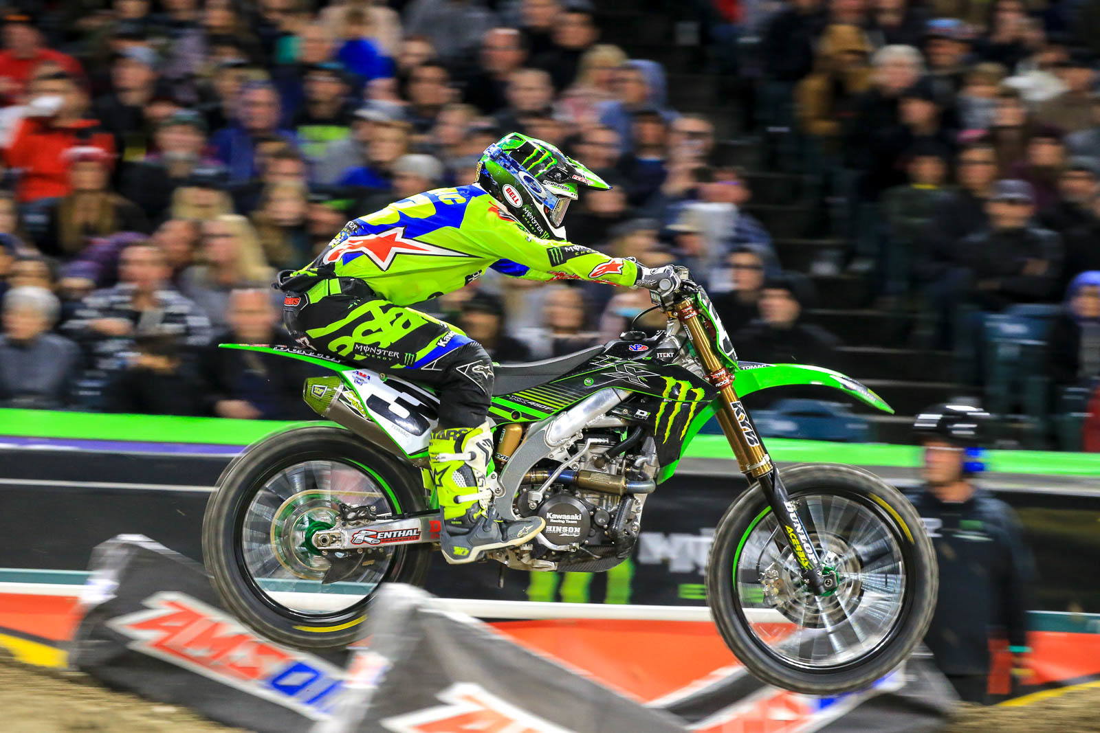 With his win at A2, Eli Tomac bounced back in a big way from crashing out at A1, and having to sit out Houston (despite riding practice there). Does he still have a shot at this year's title? As we've already seen, just about anything can happen. But at this point he only has about a third of the points that Jason Anderson already has squirreled away.