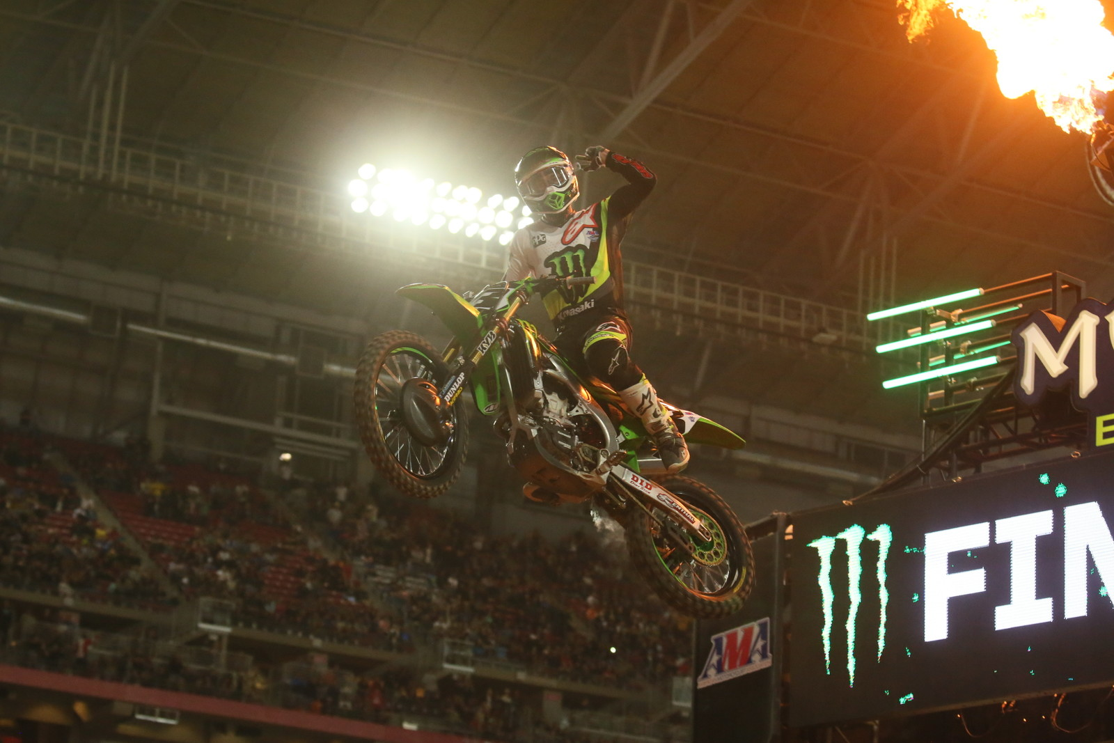 Eli Tomac took his second win of the season tonight.