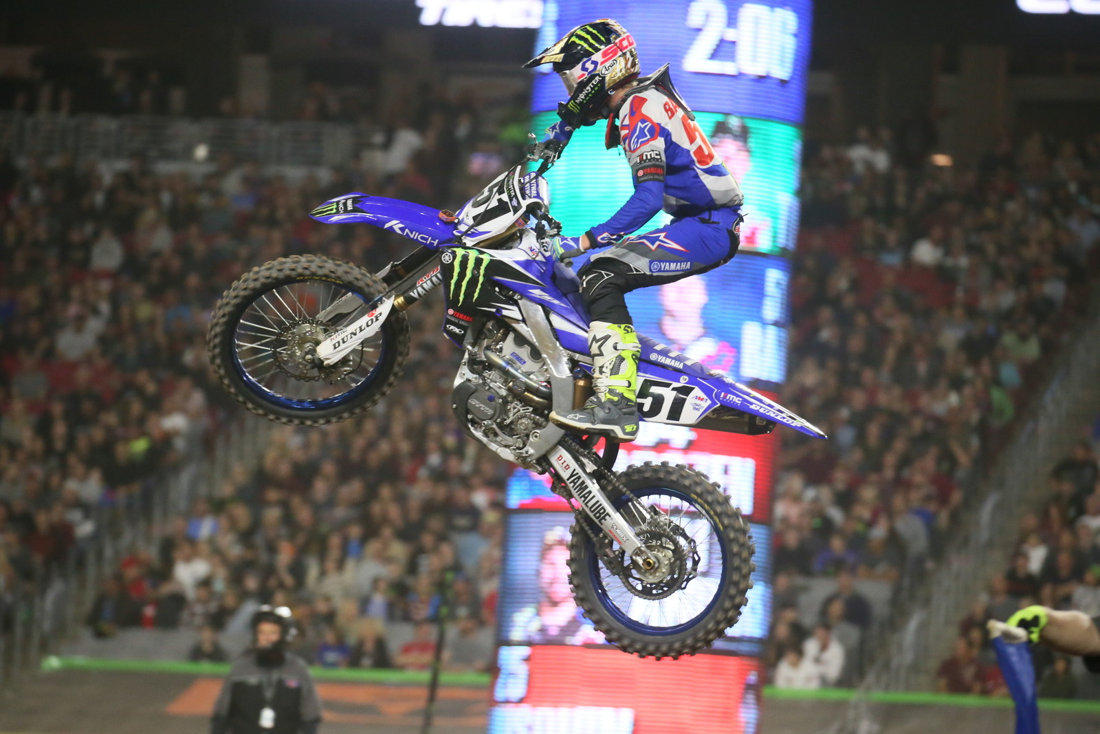 Justin Barcia now had three podiums in four tries this year.