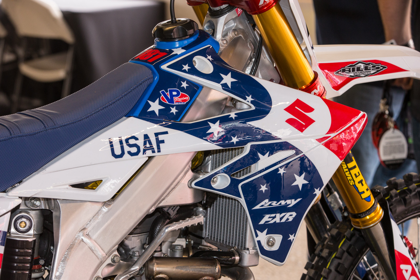 A closer look at what 180 Decals made up for the HEP team.