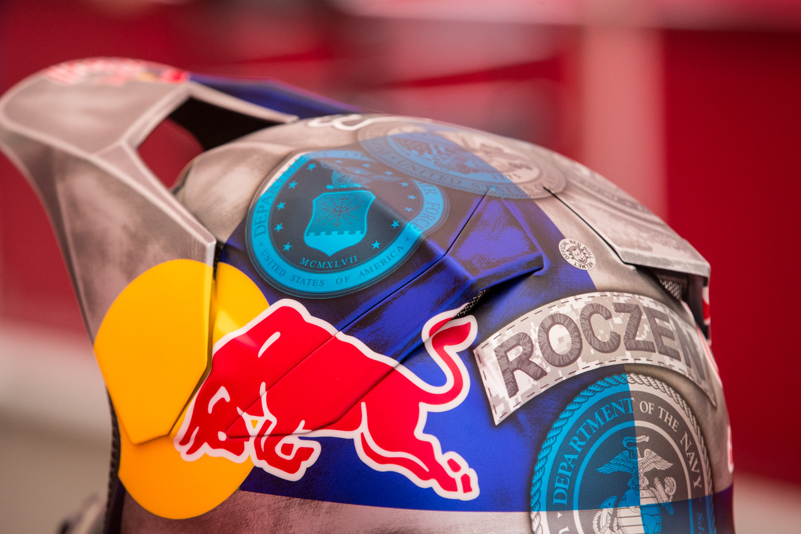 A closer look at K-Roc's lid.