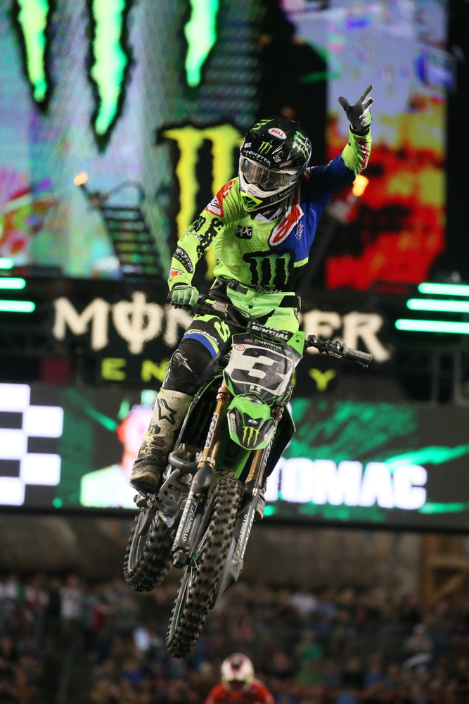 Chalk up another win for Eli Tomac.