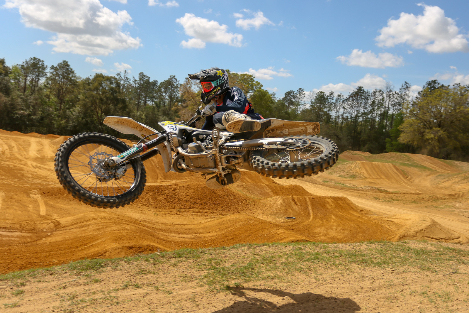 Jalek Swoll is getting ready for some of the big upcoming amateur events, and was laying down fast laps coated in heavy style.