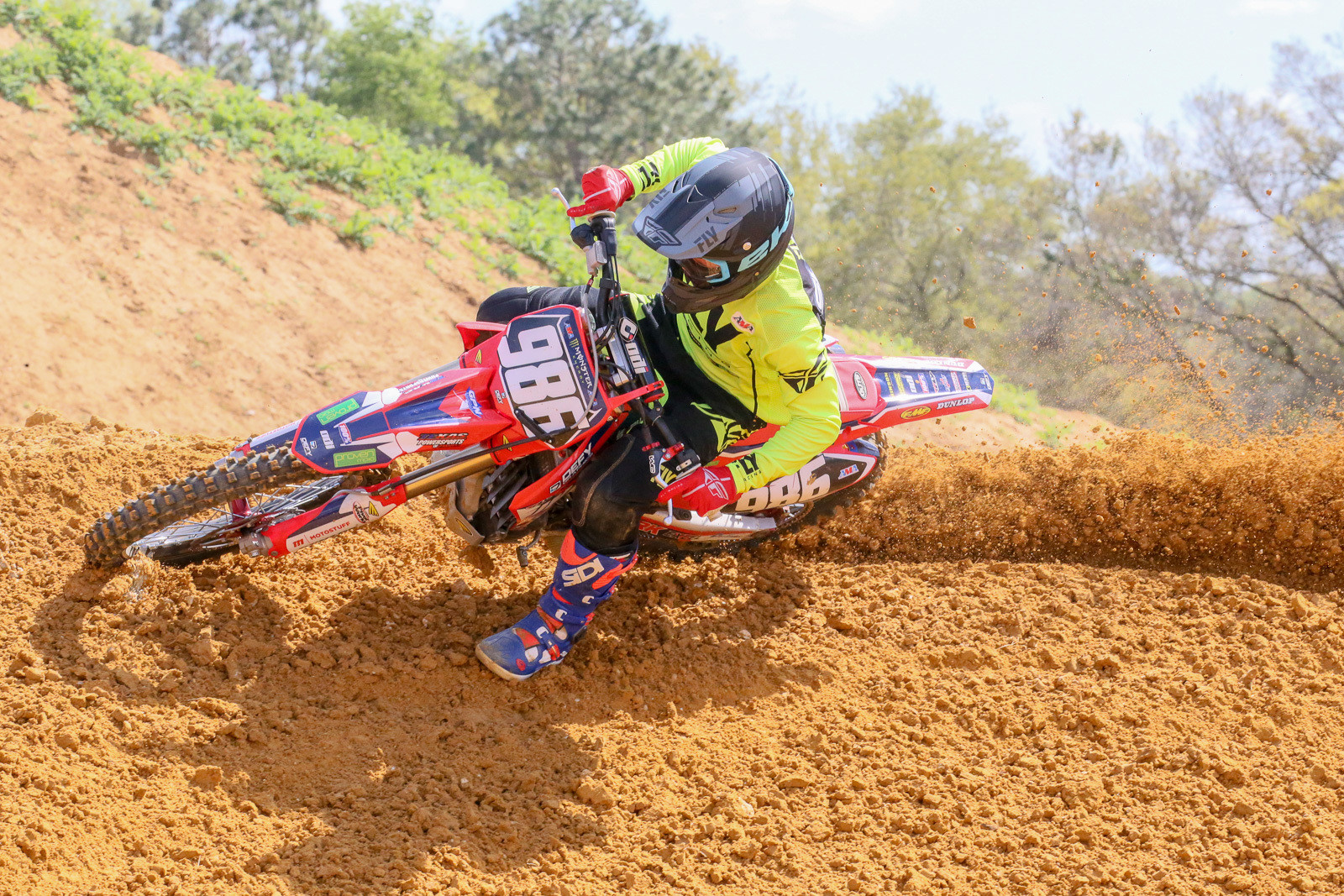 As of now, Lane Shaw may be better-known as the guy who threw it away in the 250 LCQ in Arlington, but he's impressed quite a few people with his speed, and he's been working with Tim for a bit now.