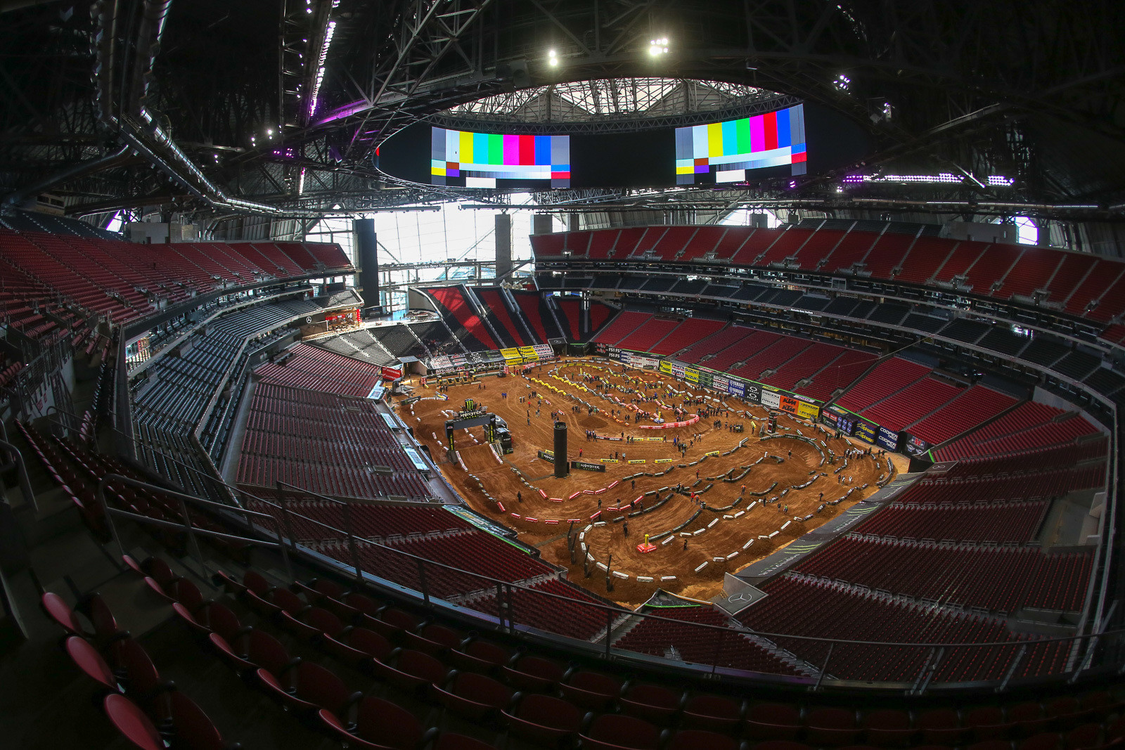 We loved the history and racing in the Georgia Dome, but the new Mercedes-Benz Stadium that replaced it is a state-of-the-art building that easily eclipses the old venue.