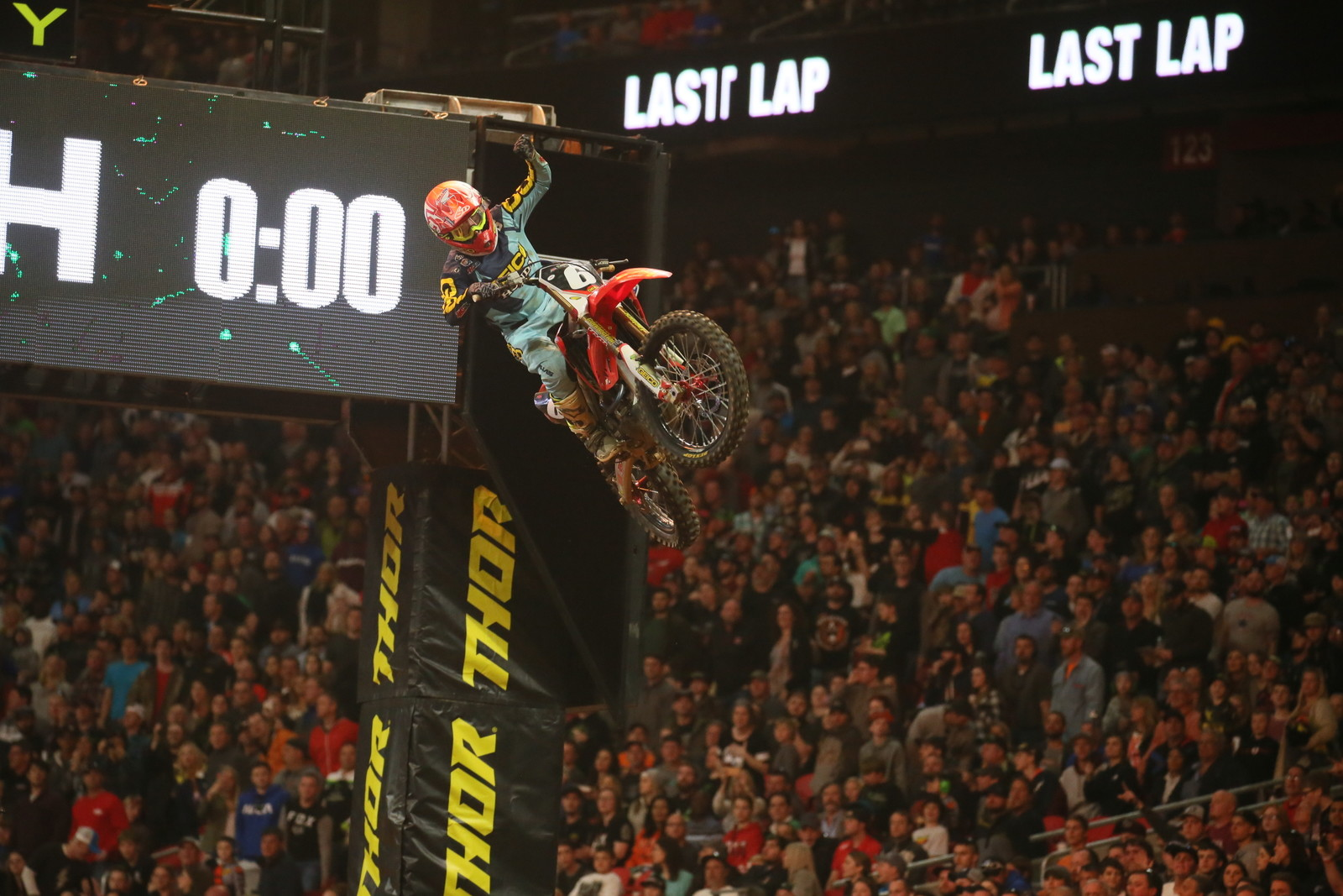 Jeremy Martin secured his first Main Event win of the season here in Atlanta.