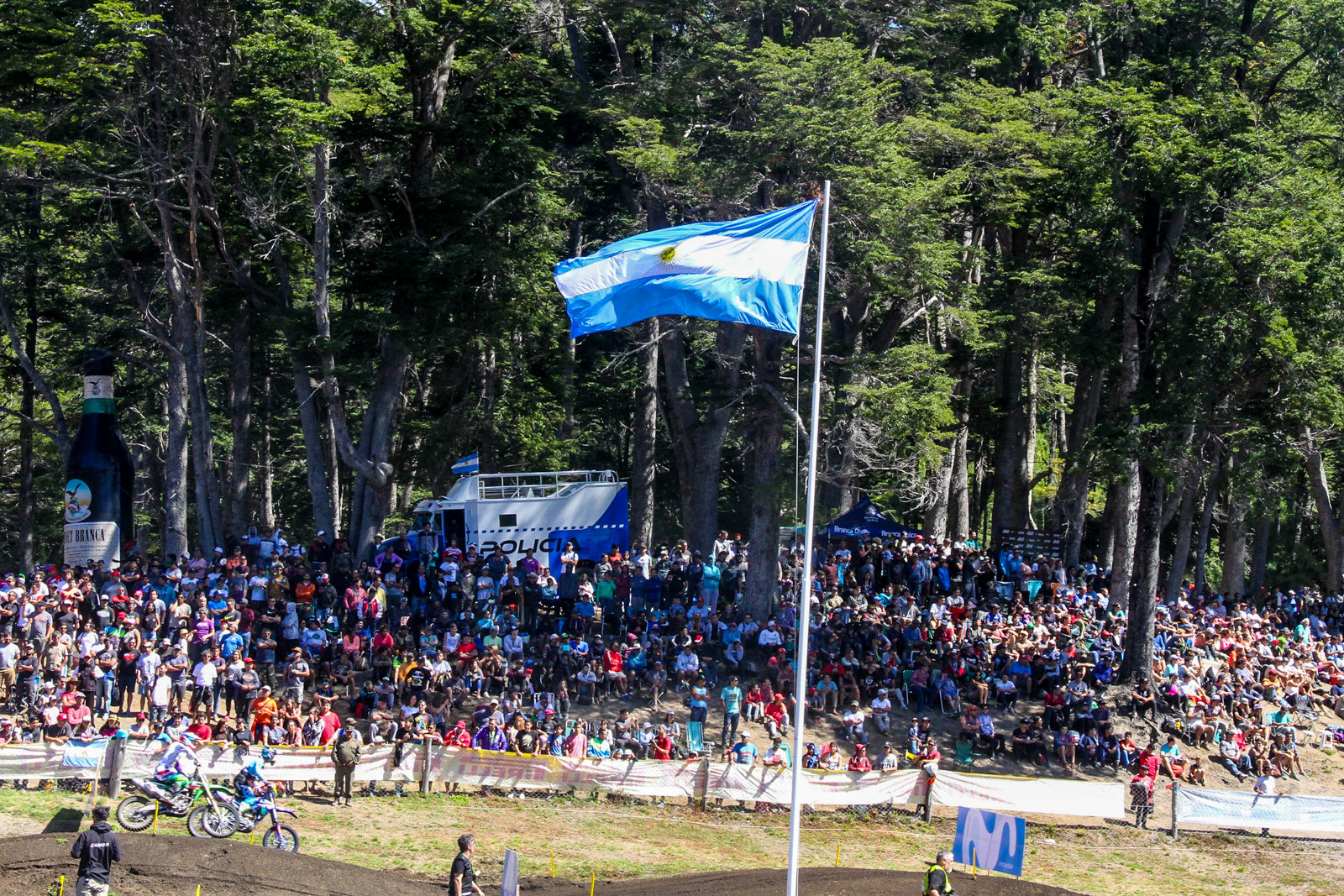 Compared to the prior opening round of the MXGP series, Argentina offered up a solid crowd with one heck of a scene.