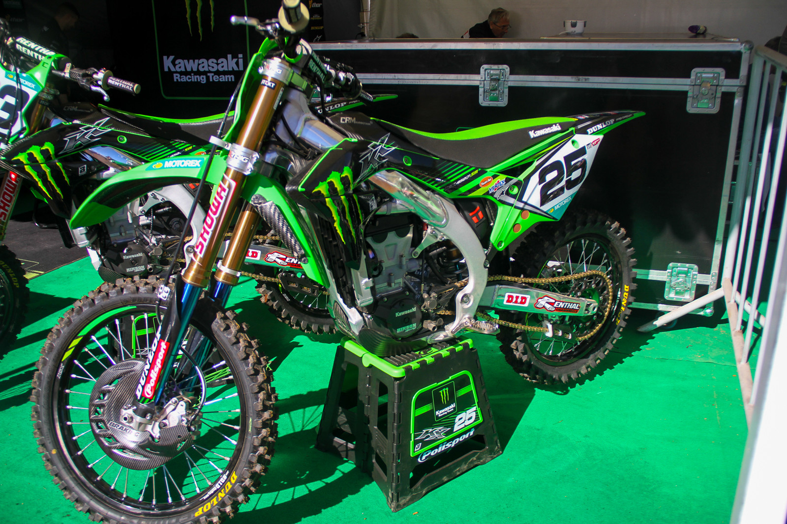 The KRT Kawasaki KX450F-SRs have some serious trickness aboard.