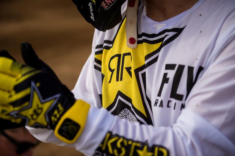 Rockstar White/Yellow