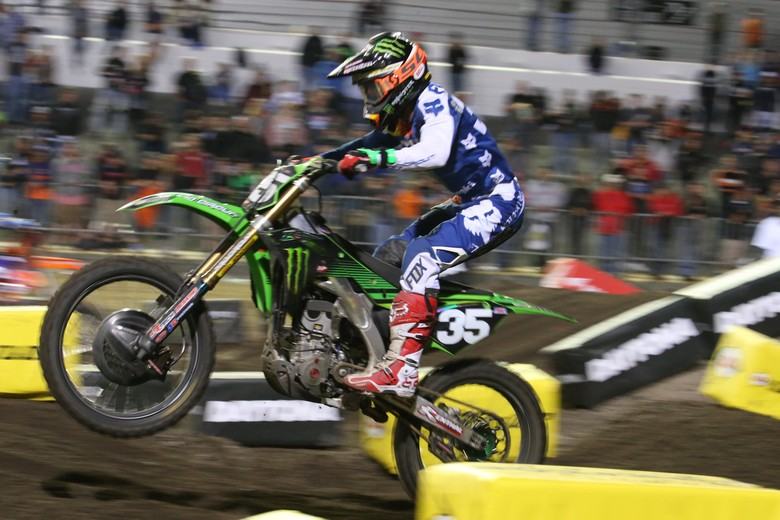 Austin Forkner was third.