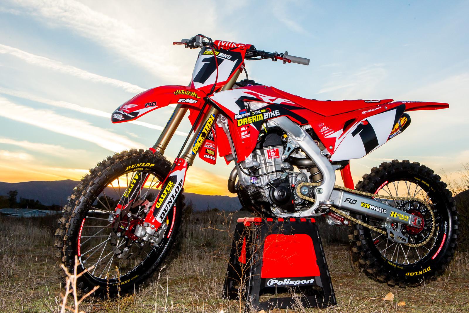 Time To Win The Vital Mx 2018 Honda Crf450r Dream Bike Motocross