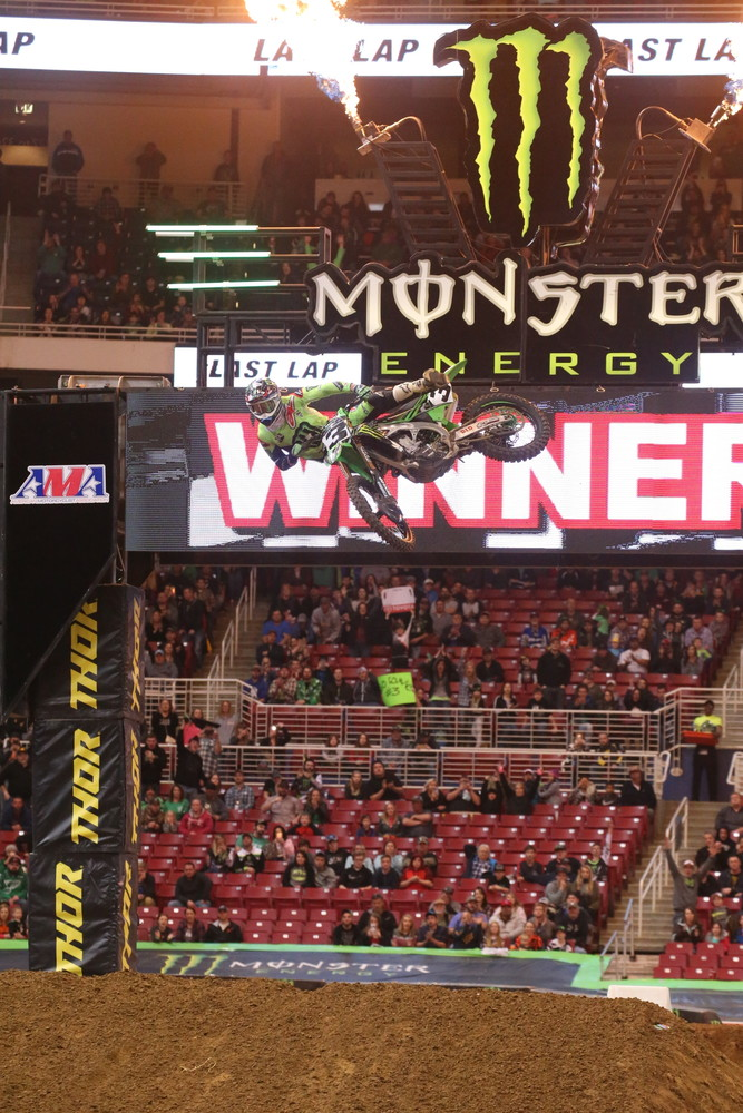 It was another win for Eli Tomac.