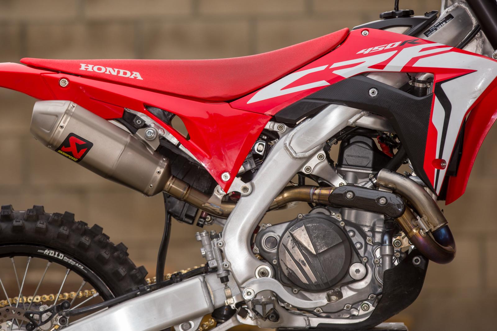 Vital MX Shootout: The Best Honda CRF450R Exhaust System
