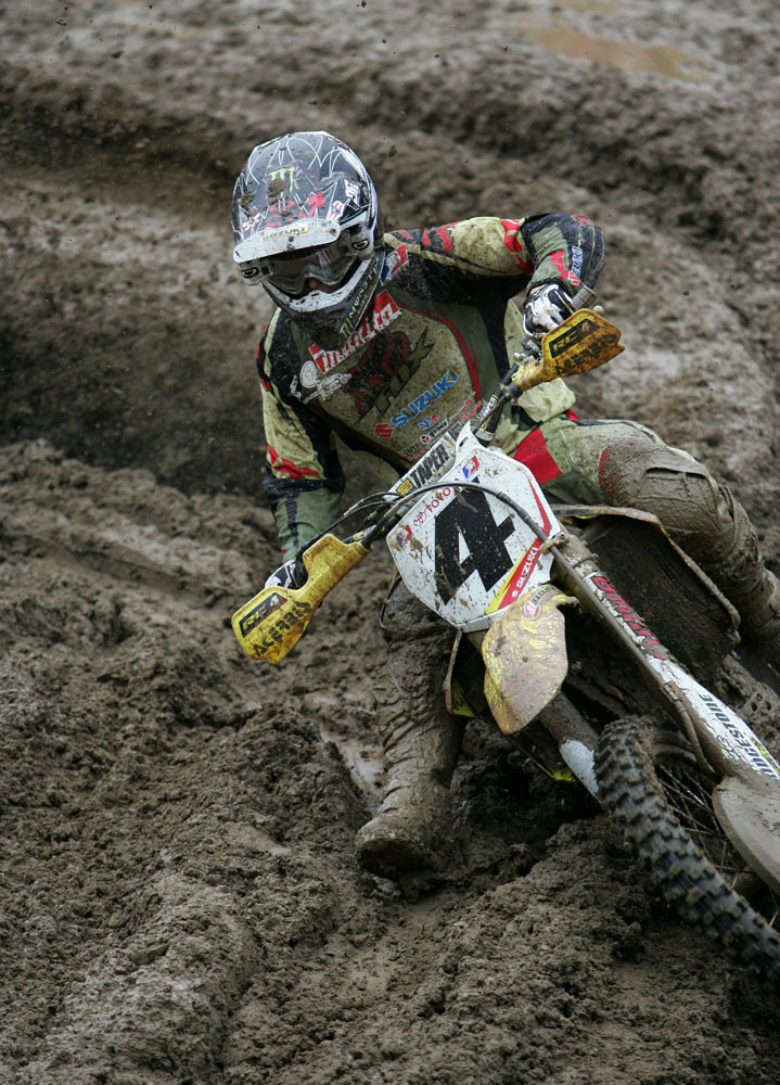 RC lapped the field in that moto, never seemed to put a wheel wrong, and looked like he was riding an entirely difference course as everyone else.