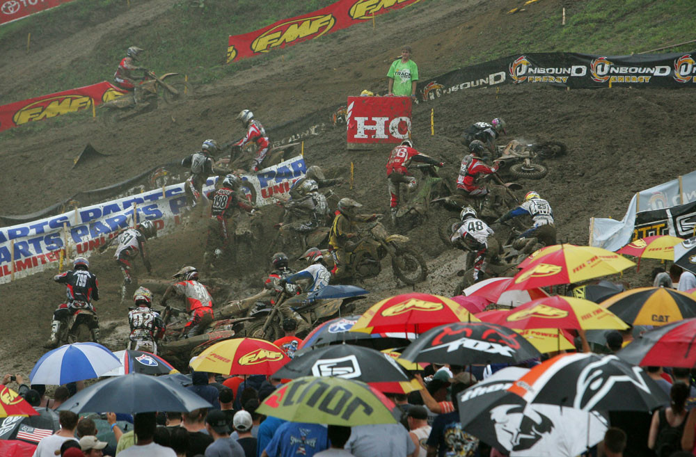 Let's start with Millville in 2006, where a serious downpour for the second motos had nearly everyone floundering.