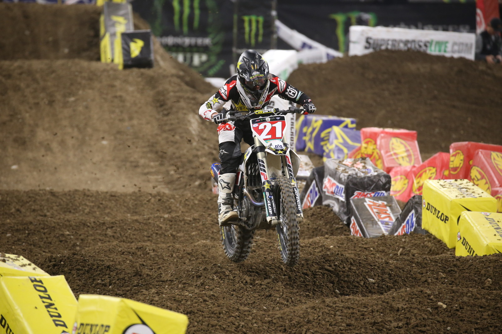 Jason Anderson won the final 450 Main Event of the night.