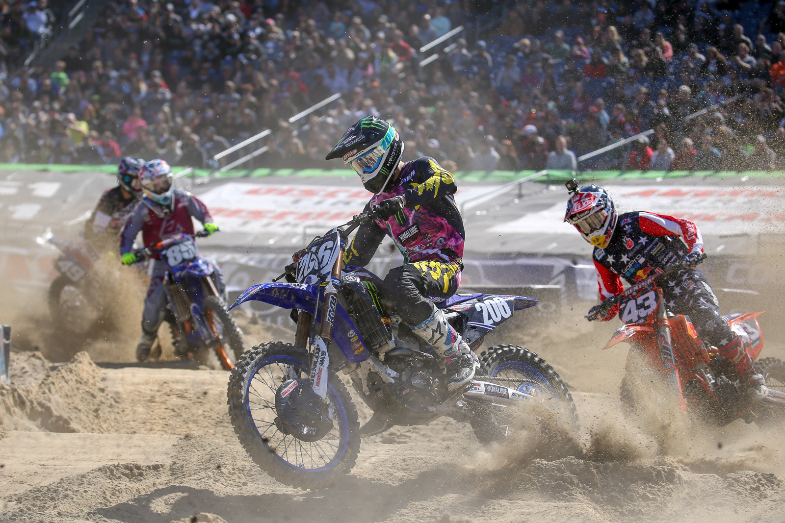 For being a 180 sand corner, the sand section was actually pretty much drama-free.