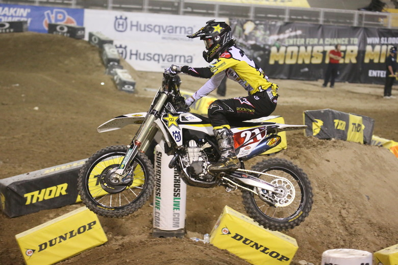 Jason Anderson is looking to have a safe night and walk out of the stadium with a #1 plate.