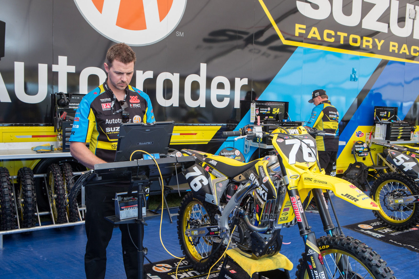 These days, laptops are nearly a requirement to keep these bikes in top shape.