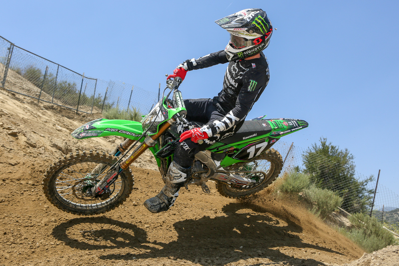 Joey Savatgy will be the healthy vet on the team for Monster Energy Pro Circuit Kawasaki as they head into the Nationals.