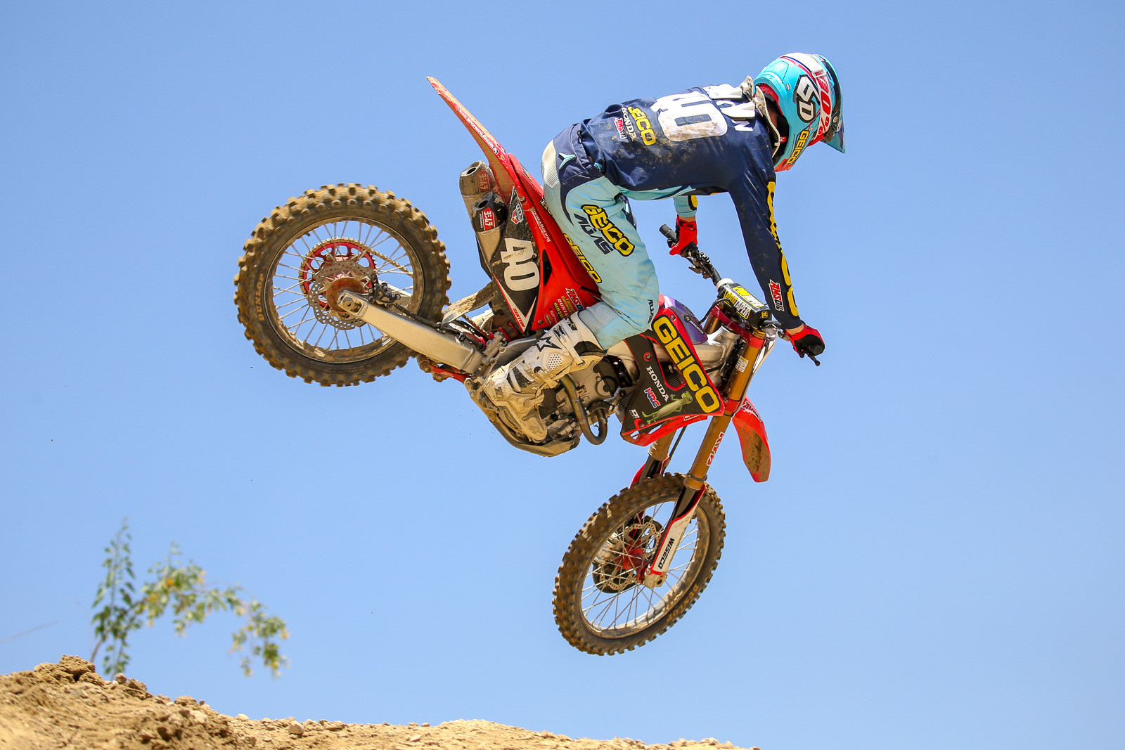 Chase Sexton and the rest of the GEICO Honda crew will be in Shift gear all summer.