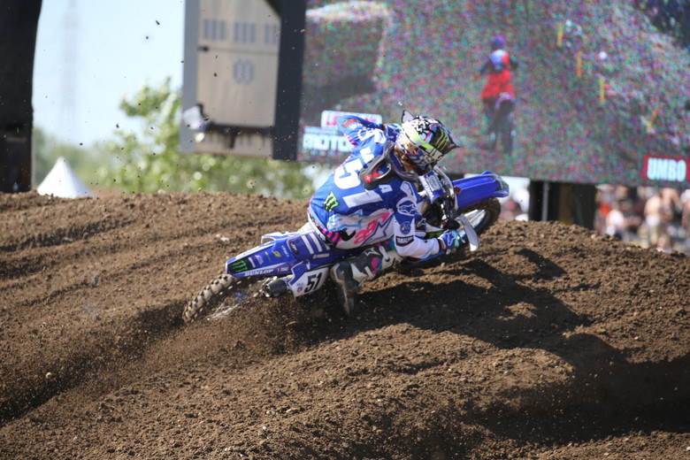 Justin Barcia had a solid day, finishing up in third overall.