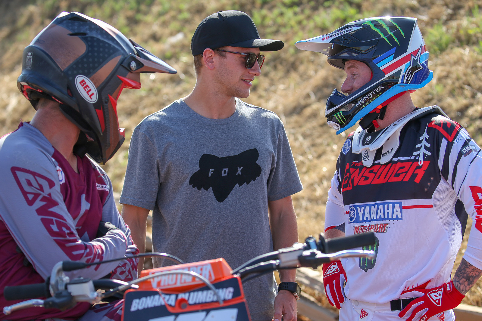 Let's kick this off with the Hangtown 125 race (lest we get further accused of ignoring it), here are a bunch of highlights.Ken Roczen came down to check out the Friday practice, and chat with Ryan Villopoto and Michael Sleeter.