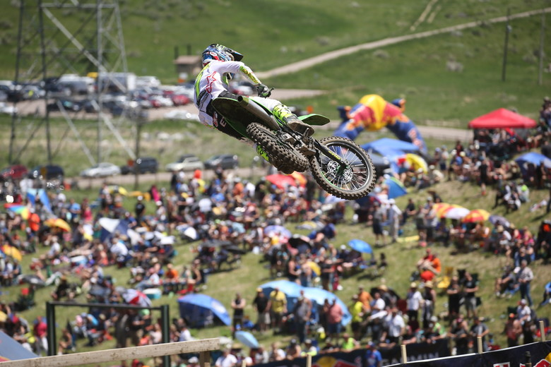 Eli Tomac was unbeatable today.