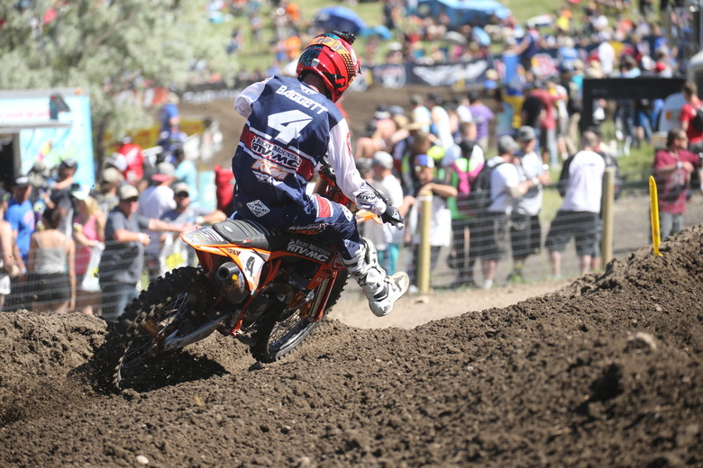 Blake Baggett is improving with each weekend. He was third overall today.