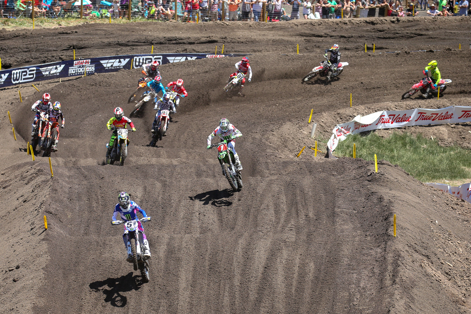 Things were settling in, with Barcia stretching the early lead, and the usual suspects trailing behind him.