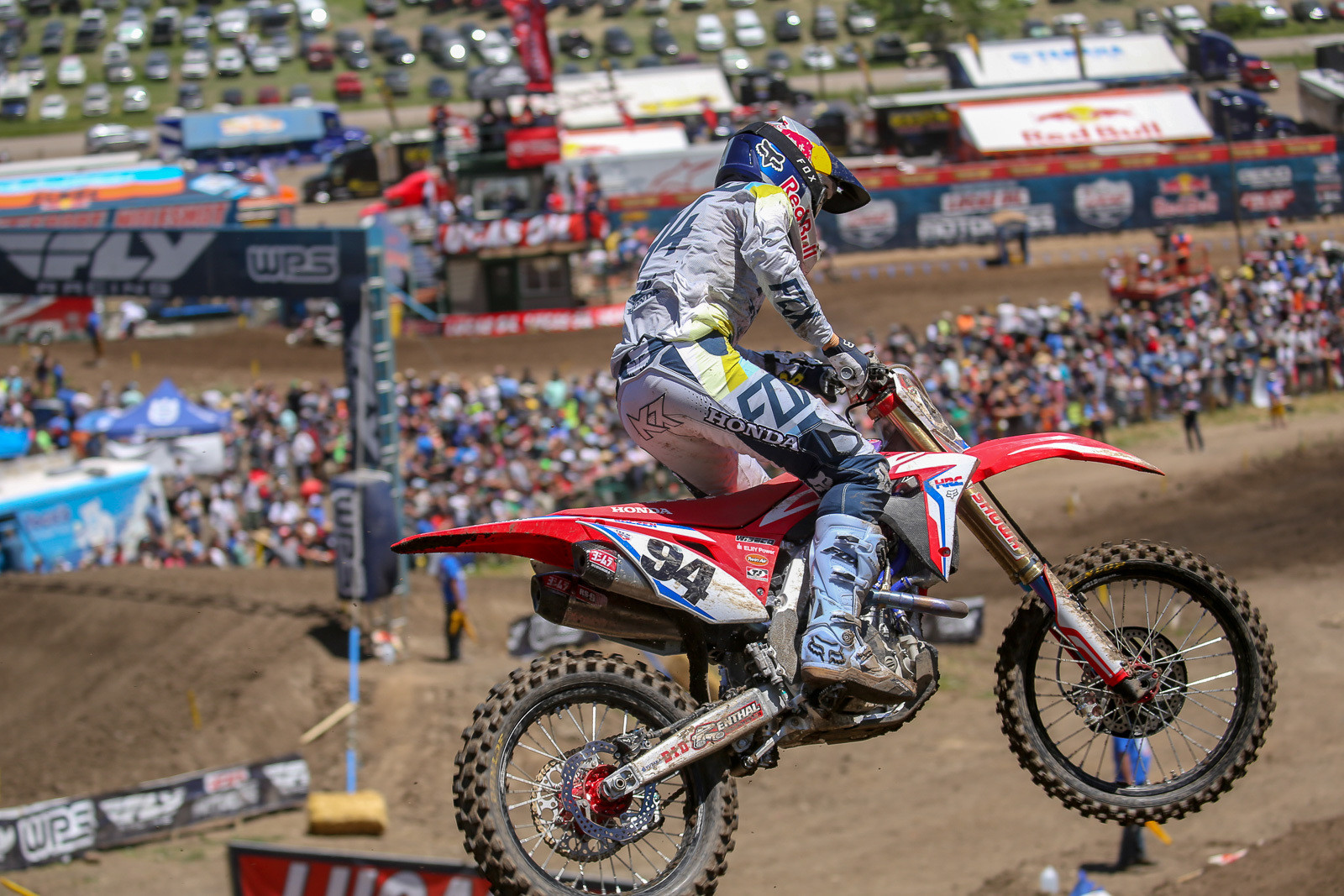 Ken Roczen is definitely ahead of where he thought he'd be as he started the season, and the break comes at a good time to give his hands some rest.