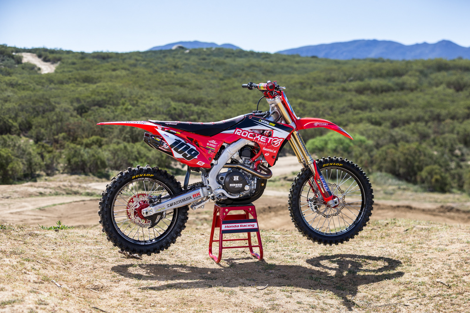 Tested Rocket Performance Honda Crf450r Motocross Feature Stories