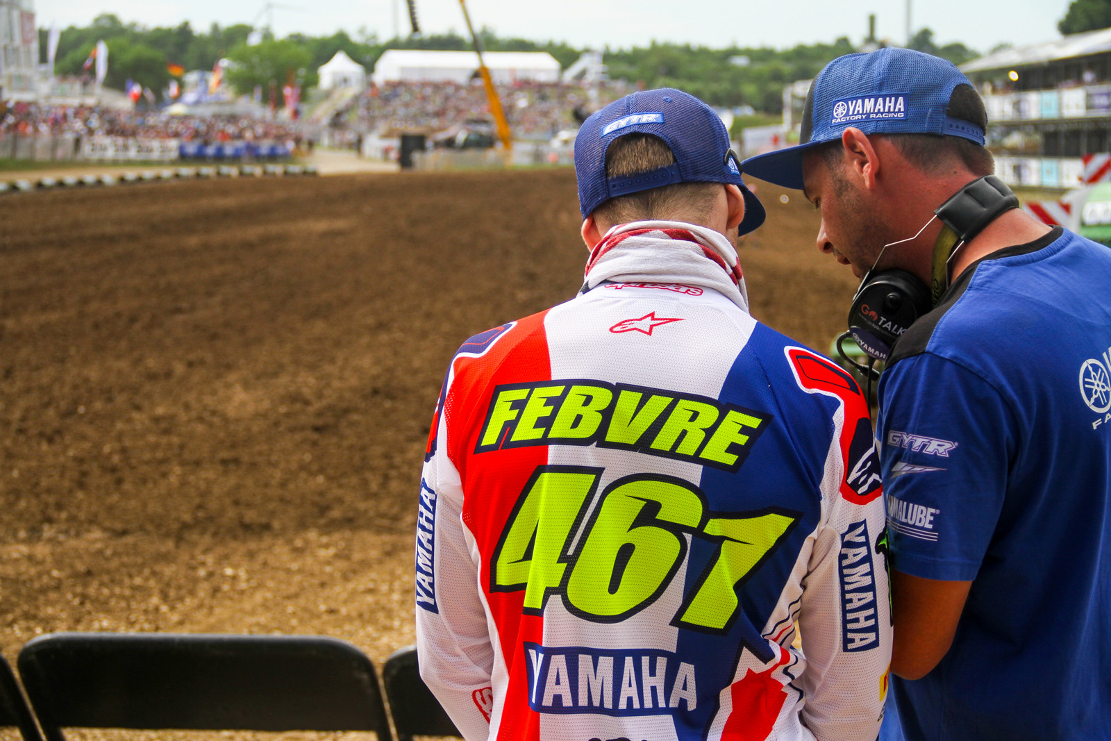 Romain Febvre being the other popular French rider in the MXGP field, was also sporting some one-off gear.