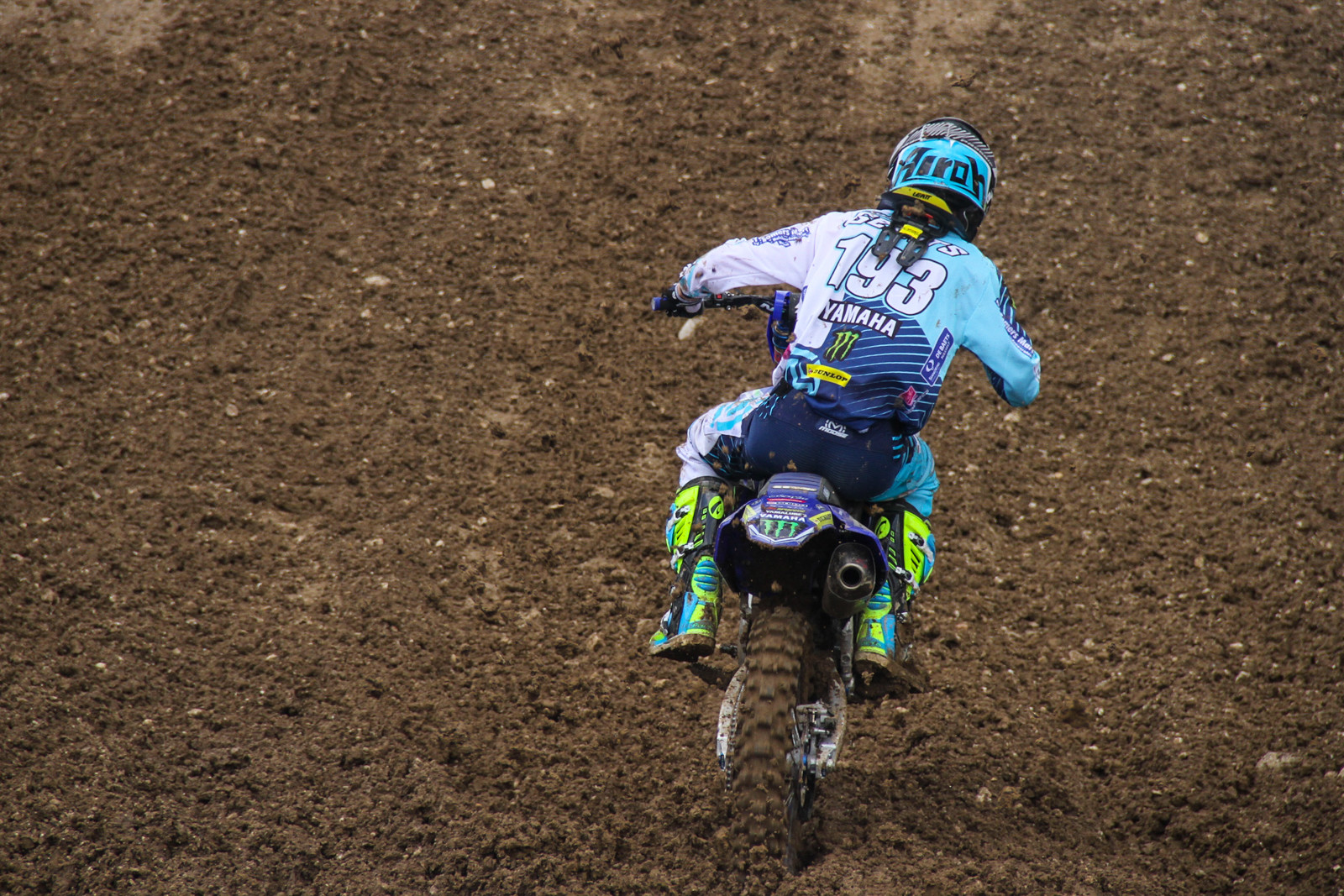 Jago Geerts just finished off the MX2 podium with a third in moto two, and fourth overall.