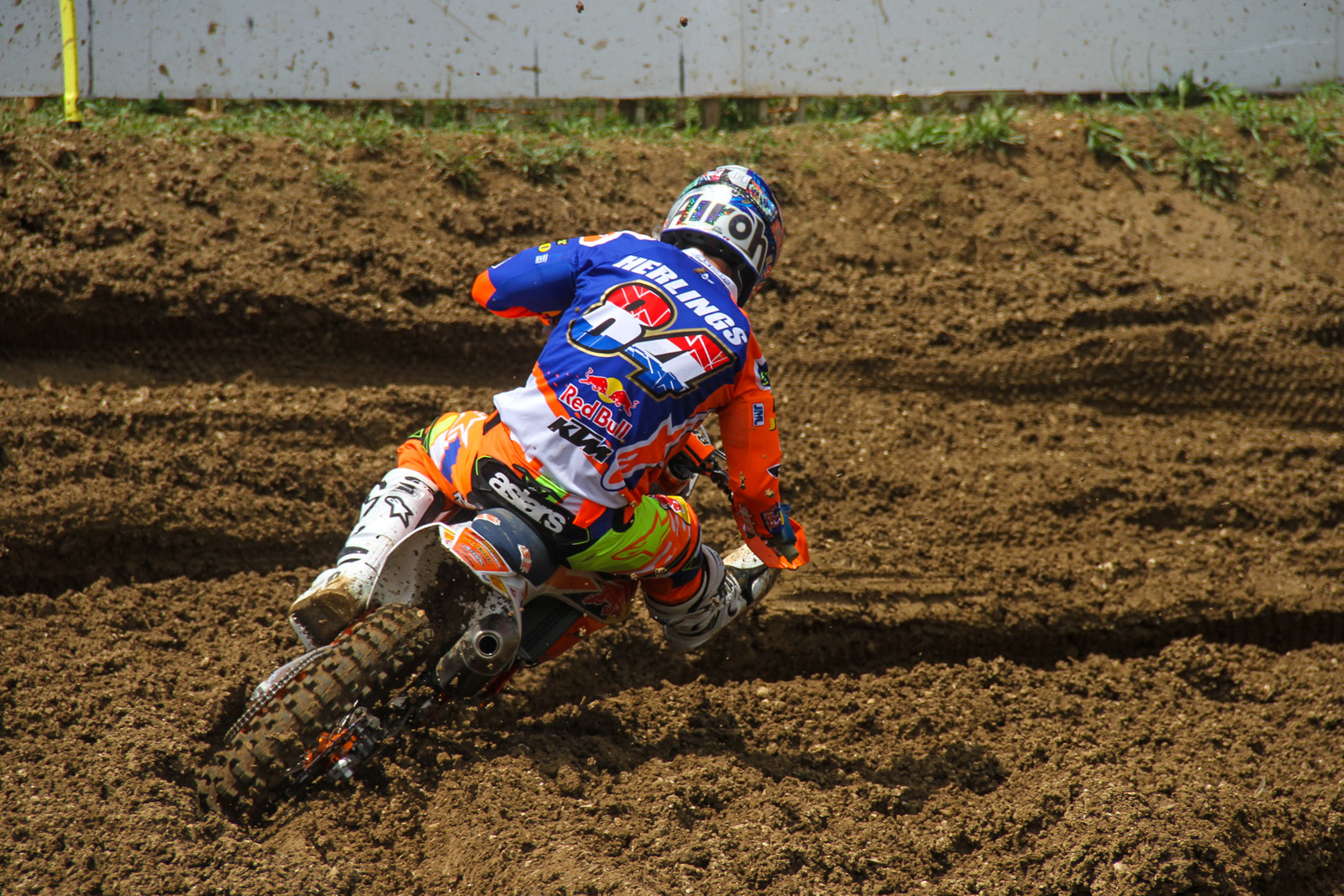 Another one-one performance allowed Jeffrey Herlings to stretch his points gap over Antonio Cairoli by 60 points.