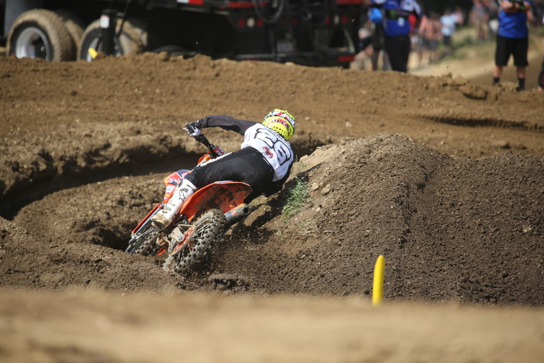 It was a rough day at the office for Alex Martin.