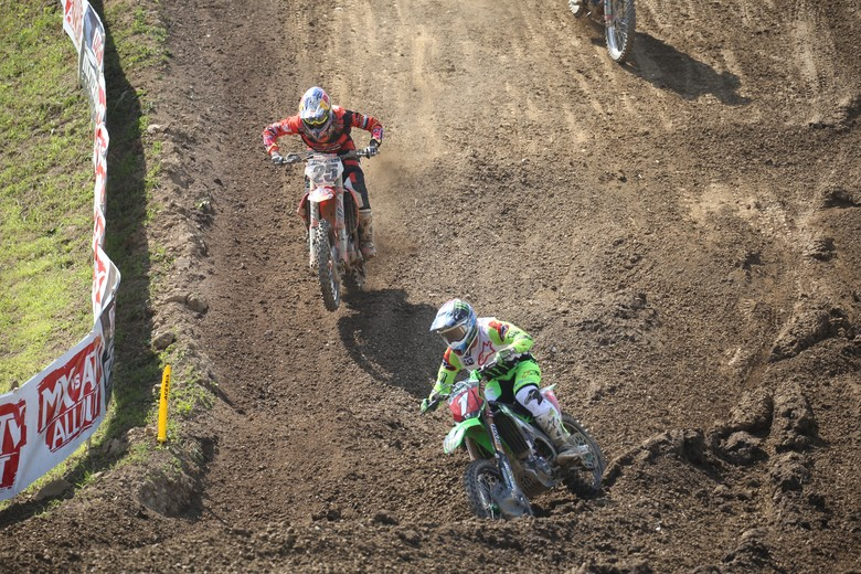The second moto battle between Eli Tomac and Marvin Musquin was insane.