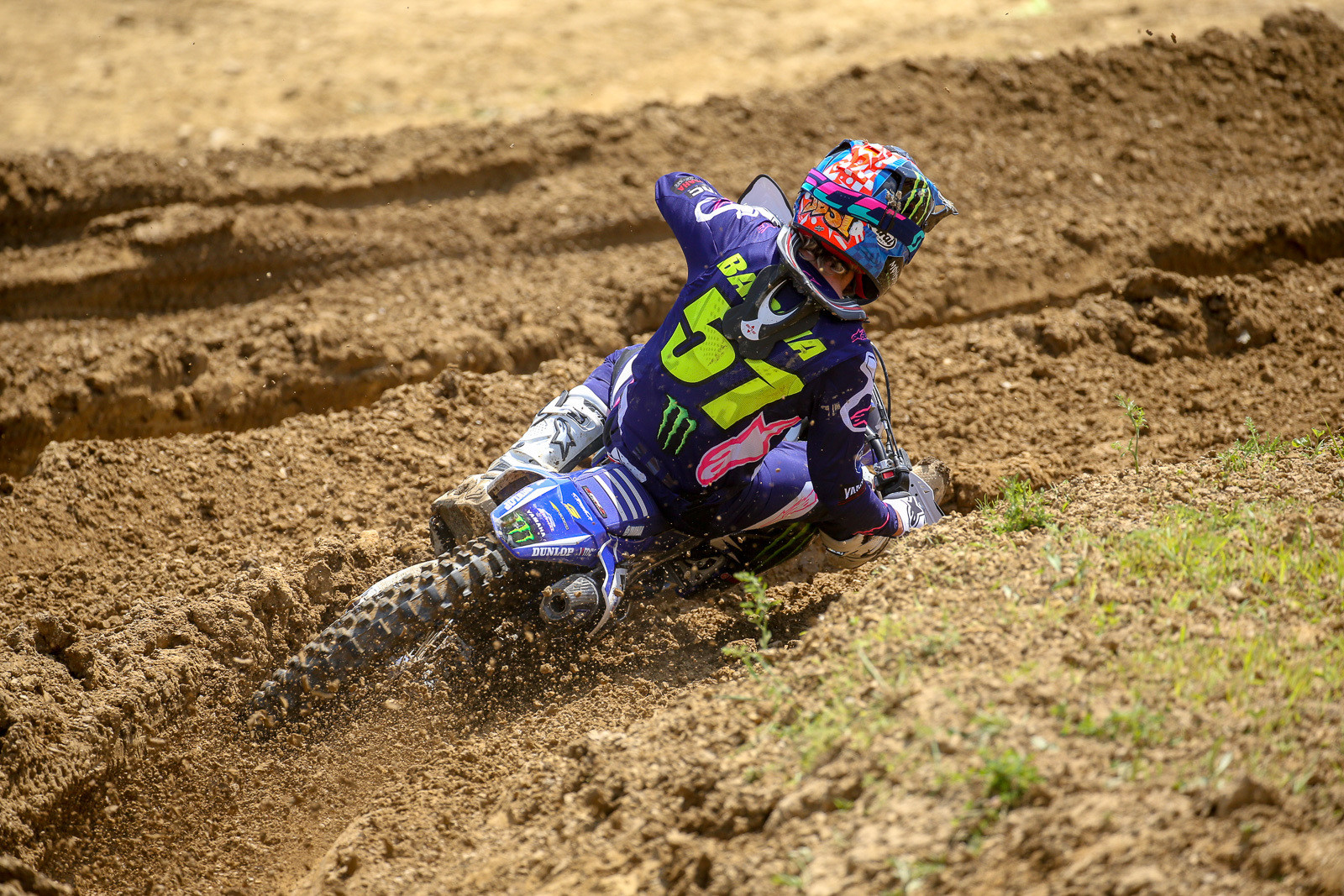 Once he and Marv settled their pecking order in moto one, Justin Barcia had a relatively quiet day on his way to third overall.