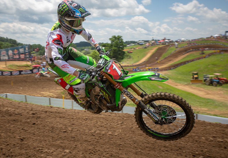 Eli Tomac remains undefeated this season. Five-for-five.