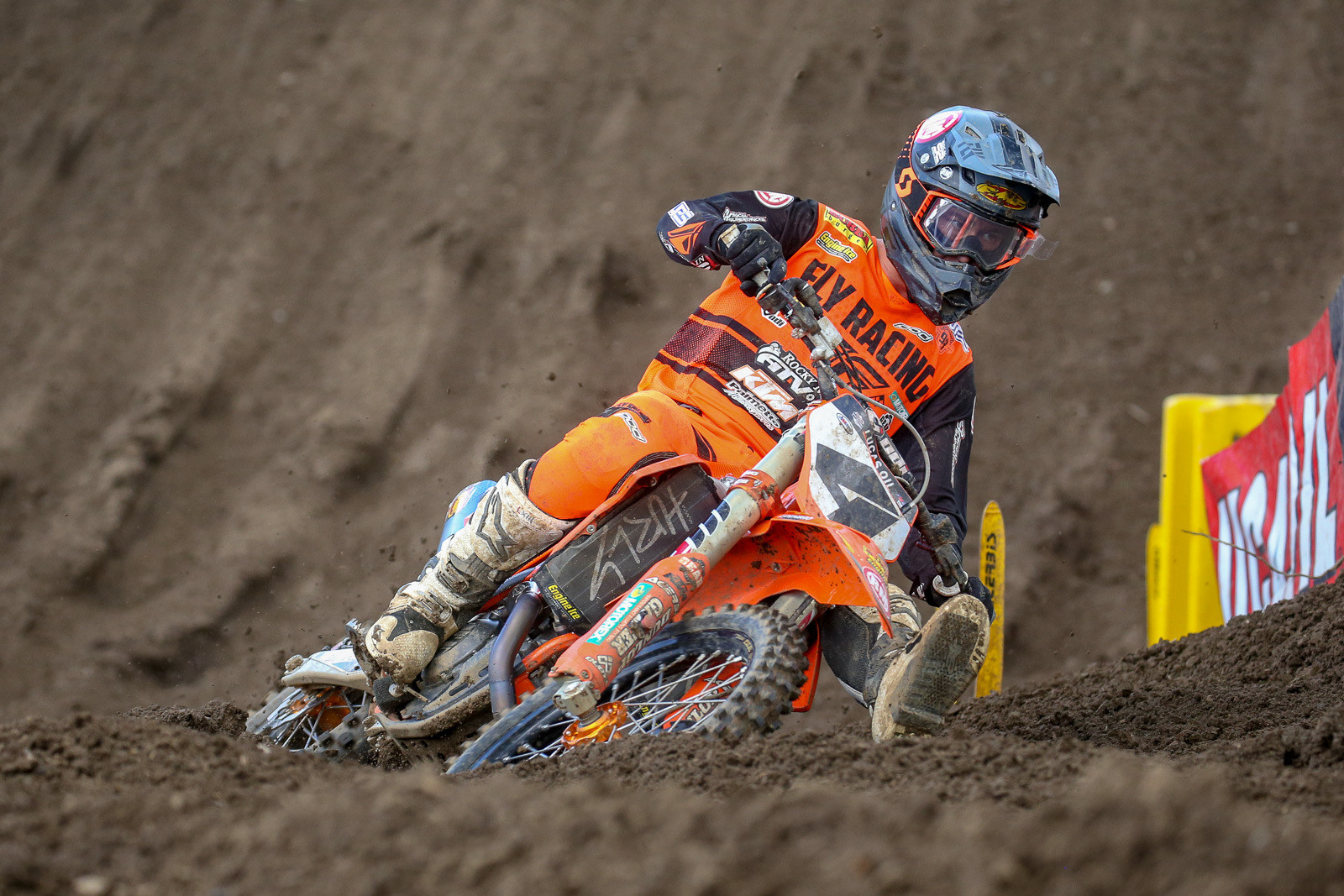 Blake Baggett was fifth this week after starting around the top ten in both motos.