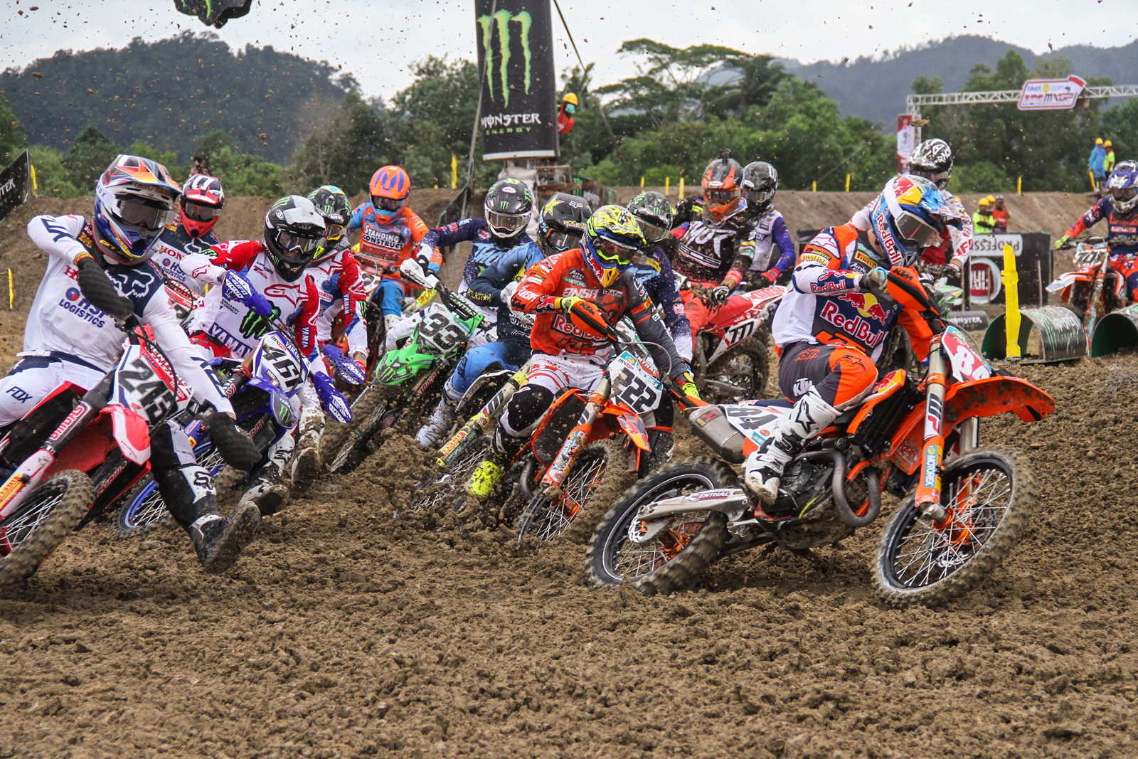 Did anyone expect any less of Jeffrey Herlings? Injured or not, he's the top of the field this year.