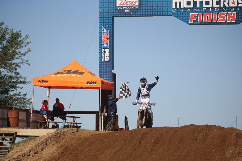 Aaron Plessinger had a perfect day today.
