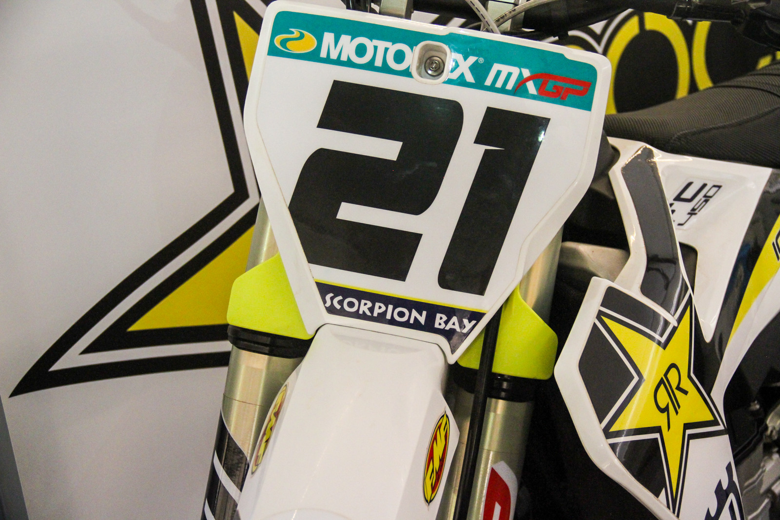 Ehh, we're still on the fence about the stock clamp guards on the Husqvarnas. Do you like them?