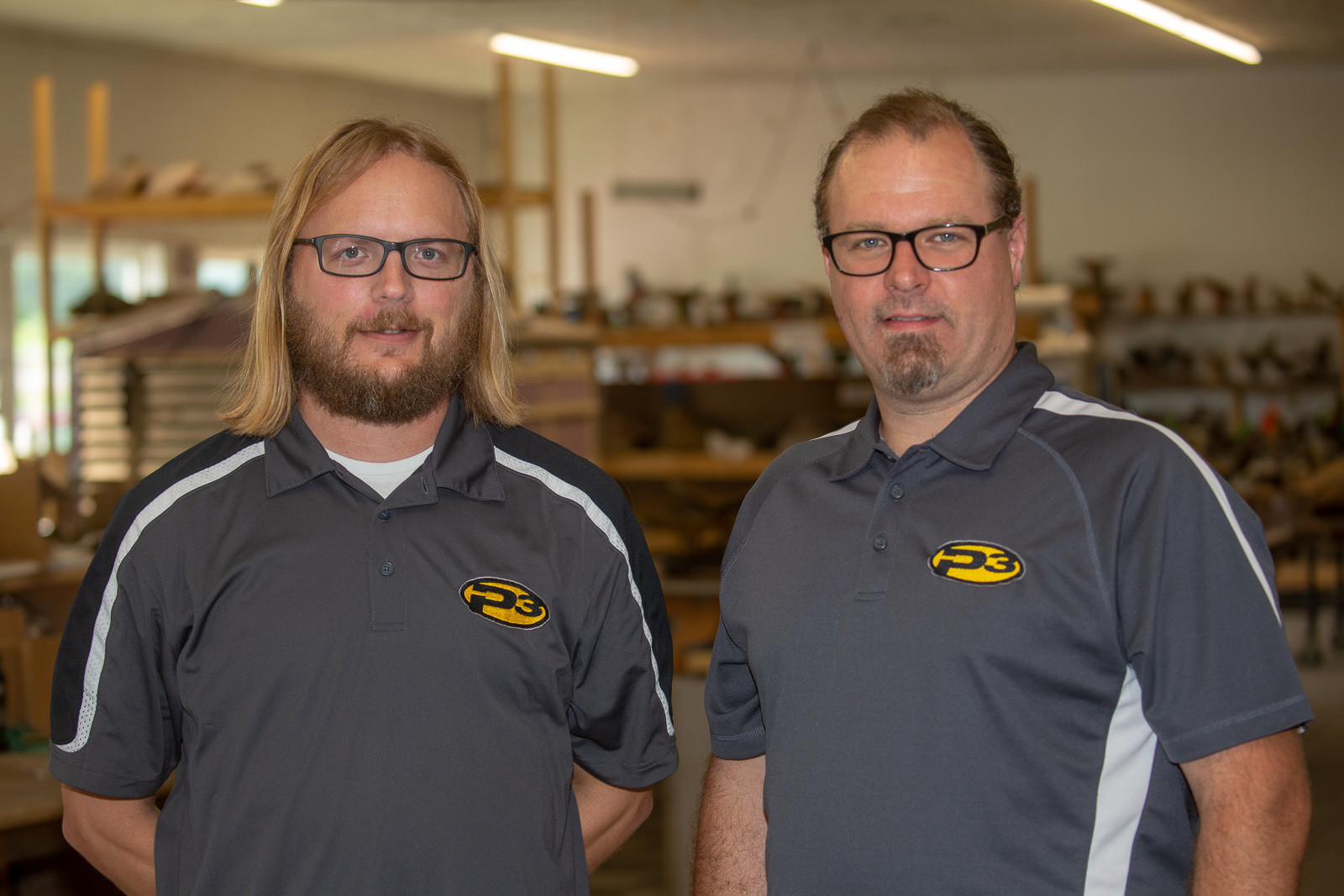 Above you'll find the CEO, Jamin Jones (left); and Project Manager, Adam Angelona (right).