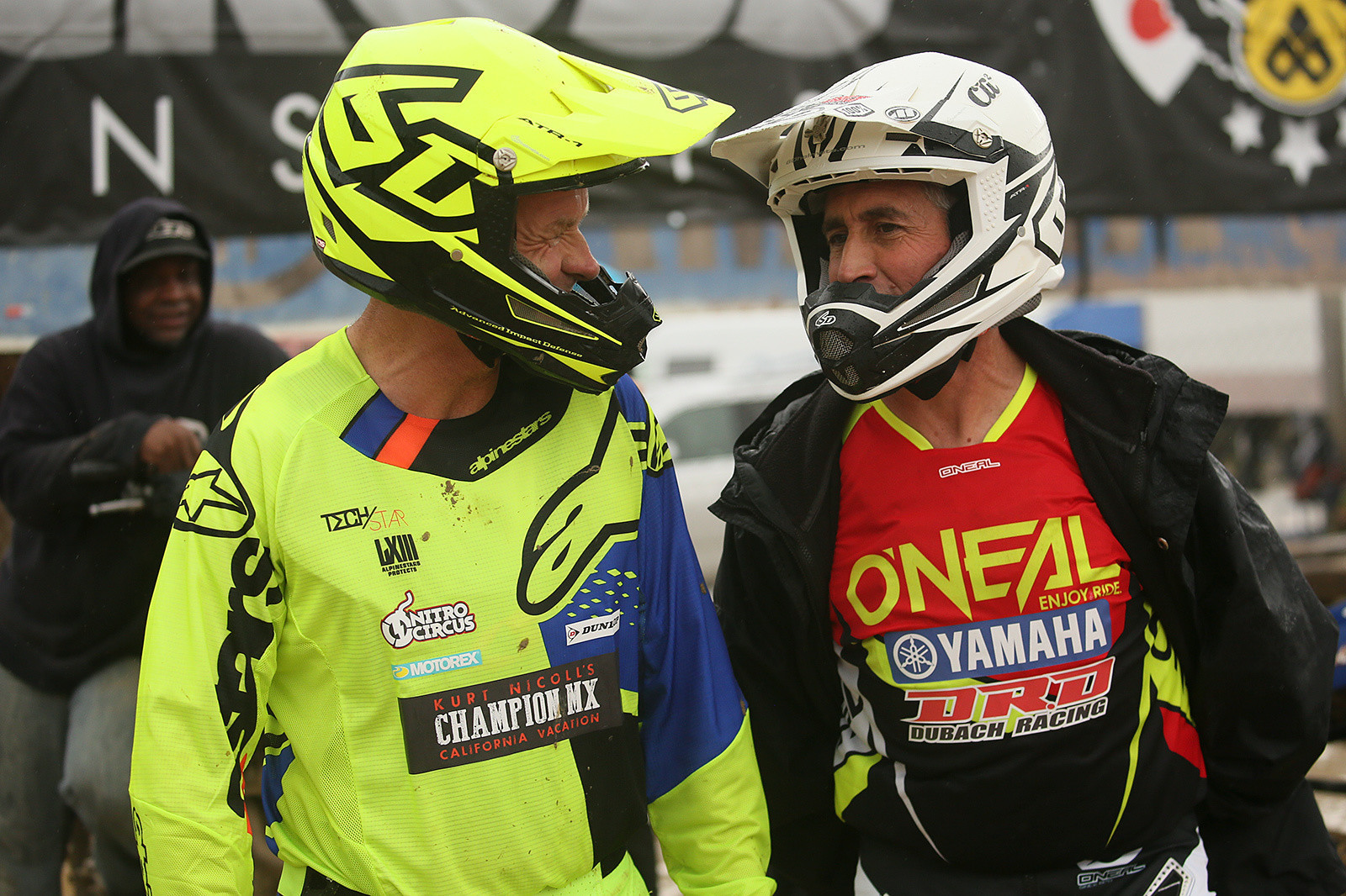 Doug has had some rivals over the years at the Vet Worlds. Most recently? He and Kurt Nichol have been battling.