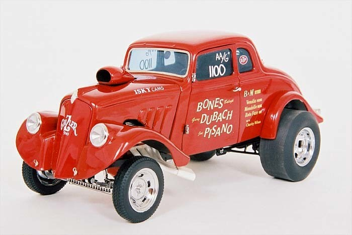 Here's a replica of the Willy's Gasser that Doug's dad was a part of.