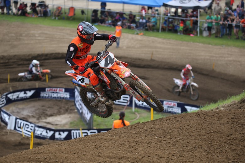 Blake Baggett seems to be getting better with each round.