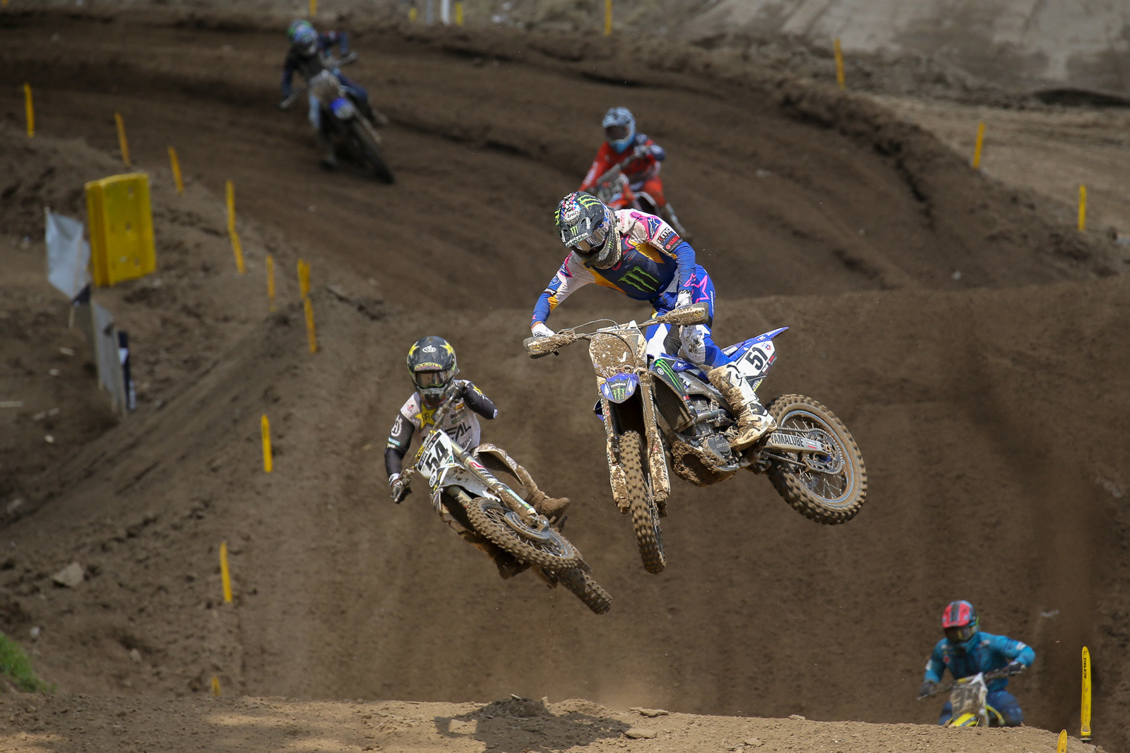 Justin Barcia grabbed a pair of fifth-place finishes.